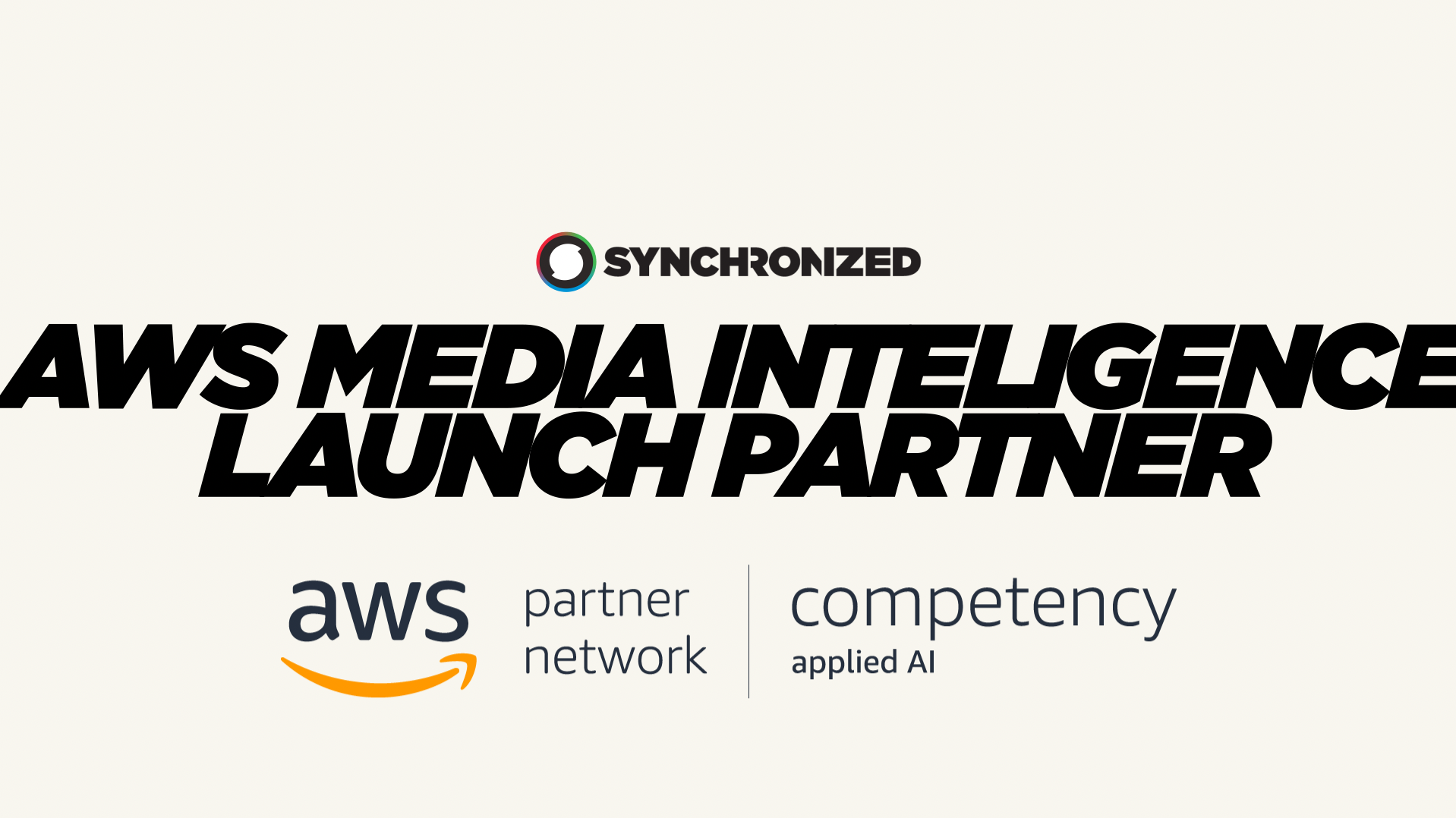 Synchronized Awarded AWS Competency