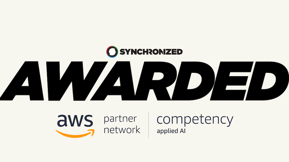 Synchronized awarded AWS Machine Learning Competency Status in Applied AI